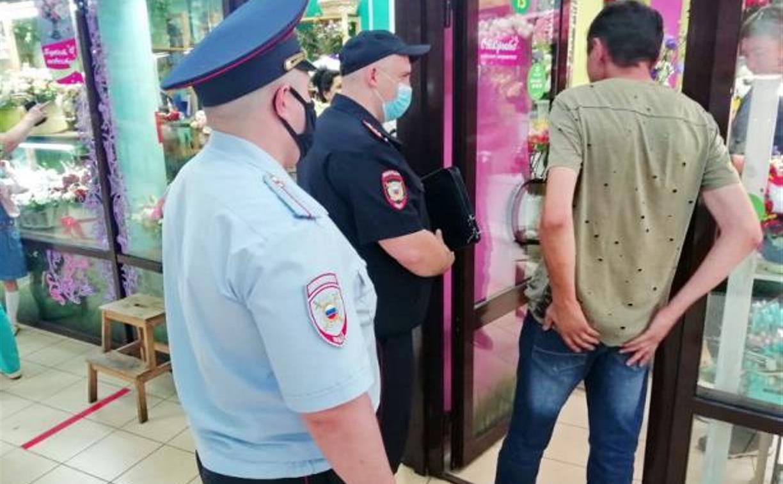 За сутки тульские полицейские составили 78 протоколов за нарушение масочного режима