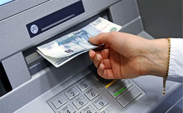 В Алексине банда похитила банкомат с помощью автомобиля и верёвки