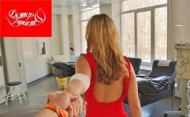Тульские автогонщики приглашают сдать кровь