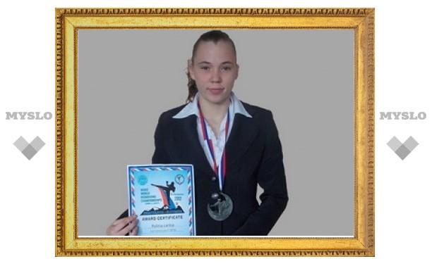 Школьница из Новомосковска выиграла первенство мира по кикбоксингу