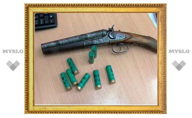 В Тульской области осужден хулиган за ношение обреза и стрельбу из него