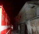 Под Тулой сгорел частный дом