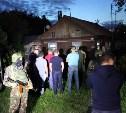 Место массового убийства на Косой Горе охраняют полицейские