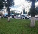 В центре Тулы на буйного водителя «Ягуара» надели наручники