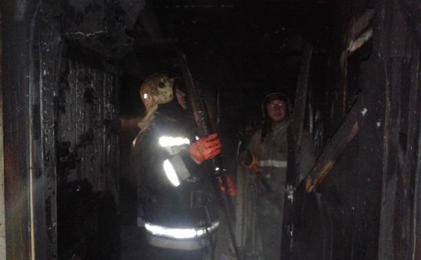 При пожаре в Новомосковске пострадали три человека