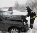 В Алексинском районе в результате ДТП пострадали три человека