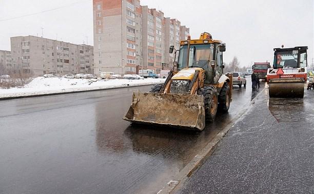 Дорогу на ул. Хворостухина в Туле планируют открыть до 25 декабря