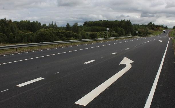 В Тульской области отремонтировали 37 км федеральных дорог