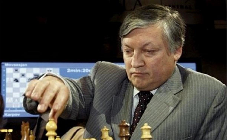 Гроссмейстер Анатолий Карпов приедет в Тулу на турнир по шахматам среди пенсионеров