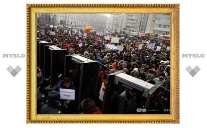 Митинг «За честные выборы» в Москве на Болотной собрал 120 000 человек