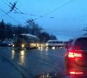 На проспекте Ленина в Туле крупная пробка: не работает светофор