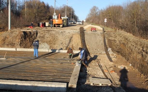 Как продвигается ремонт Щекинского шоссе в Туле?