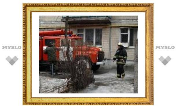 В Туле курильщик едва не спалил весь подъезд