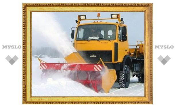 Туле не хватает снегоуборочной техники