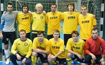 Команда ТГПУ стала чемпионом области по мини-футболу