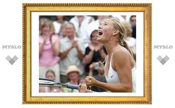 Мария Шарапова стала финалисткой Australian Open-2008
