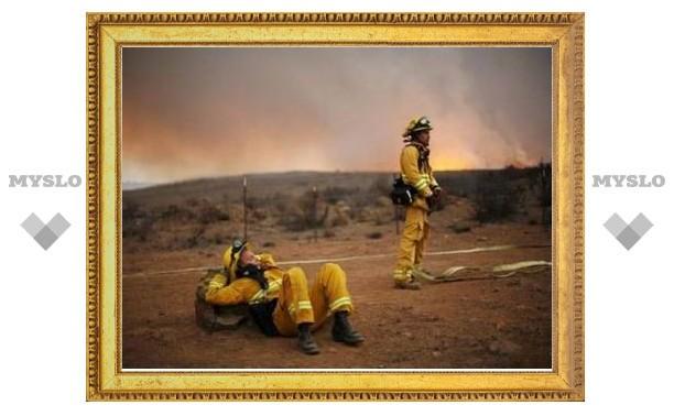 Половину пожаров под Лос-Анджелесом удалось потушить