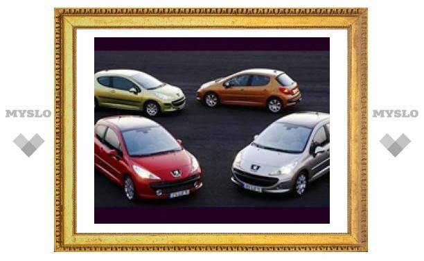 Двигатели в автомобилях Peugeot-Citroen будут сами выключаться в пробках
