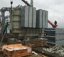 В индустриальном парке «Узловая» установили силовые трансформаторы