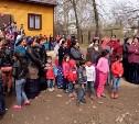 В цыганском поселении в Плеханово сносят первый дом