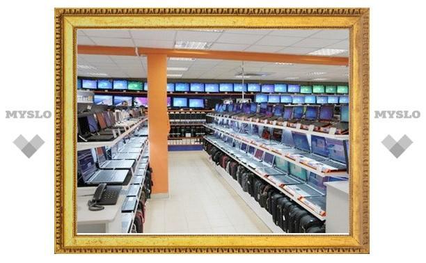 Официальное открытие супермаркета DNS: флешки ста первым покупателям!