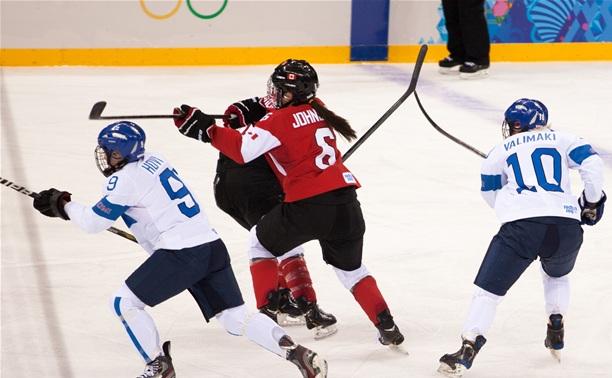 Спецкор Myslo побывала на женском хоккейном матче Канада-Финляндия