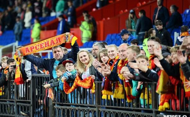 «Арсенал» обыграл «Спартак-2» и вышел в Премьер-лигу!