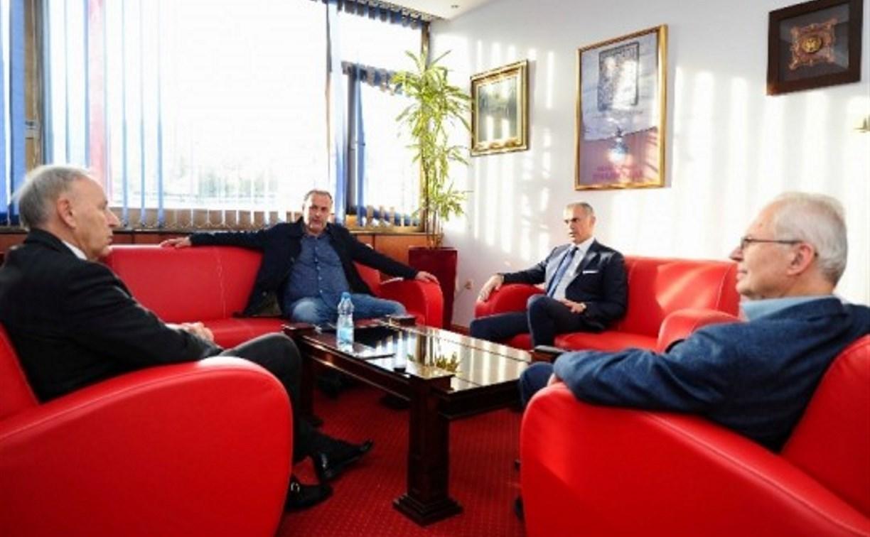 Миодраг Божович посетил сербскую «Црвену Звезду»