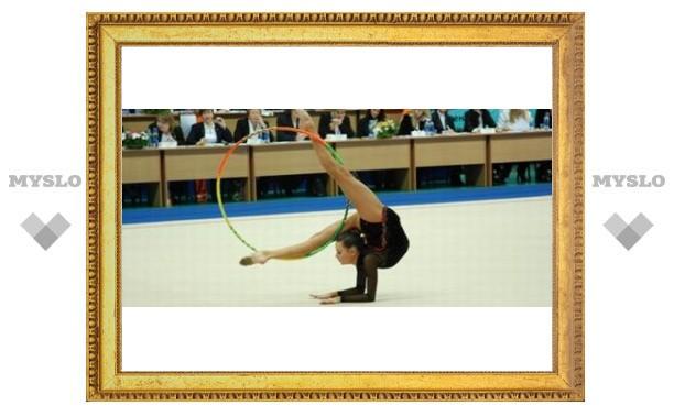 """Тульские гимнастки взяли четыре """"золота"""""""