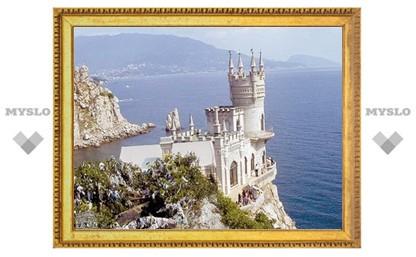 Жители Крыма приехали в Тулу рекламировать свой курорт