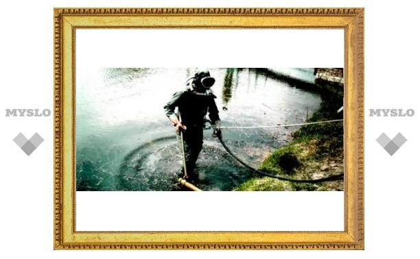 Под Тулой утонул ныряльщик