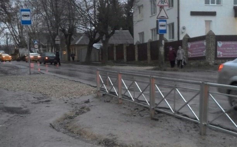 По просьбе туляков в районе Красного Перекопа перенесут остановку и изменят схему движения транспорта