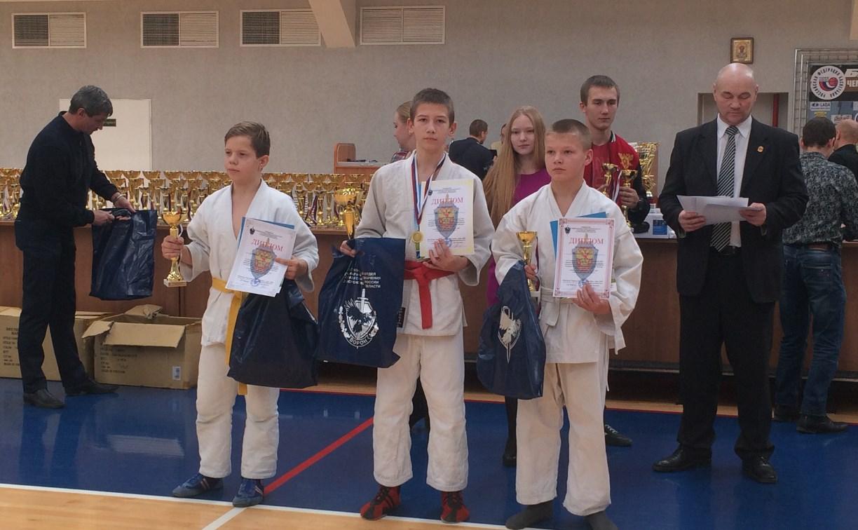Тульские рукопашники завоевали медали в Воронеже