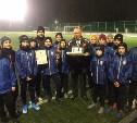 Юные тульские футболисты стали победителями межрегионального турнира