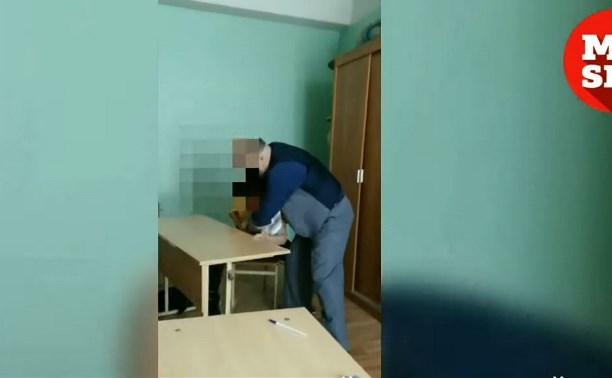 Учитель бьет или воспитывает: туляки обсуждают видео, снятое школьником