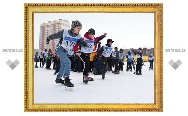 Тульские конькобежцы начали обратный отсчет