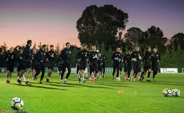 На заключительном сборе в Турции «Арсенал» сыграет четыре матча