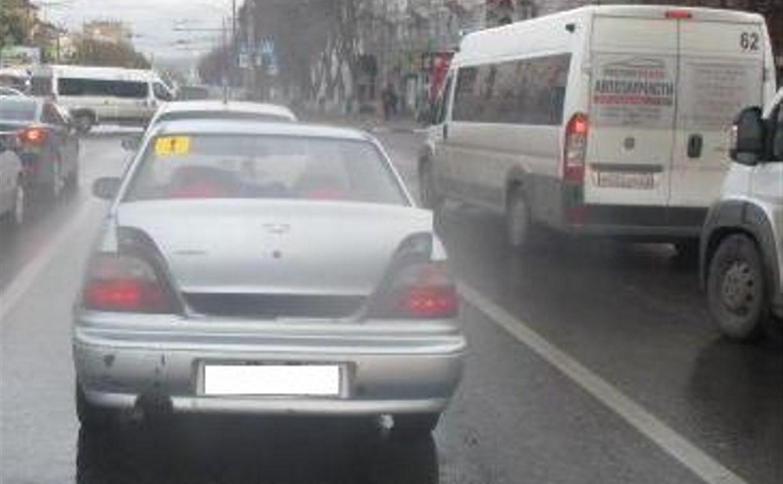 В Туле в аварии на проспекте Ленина пострадал ребенок