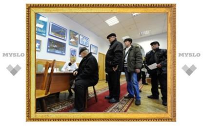 В Богородицком районе проголосовали почти 30% избирателей
