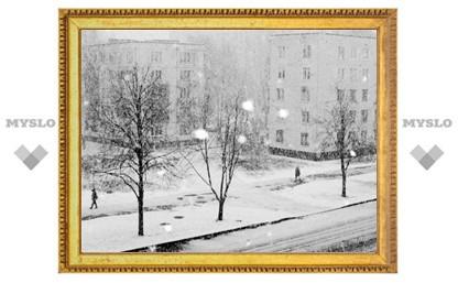 Выходные в Туле будут снежными
