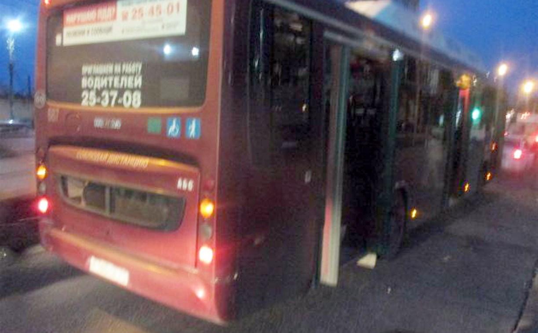 В Туле автобус сбил велосипедистку