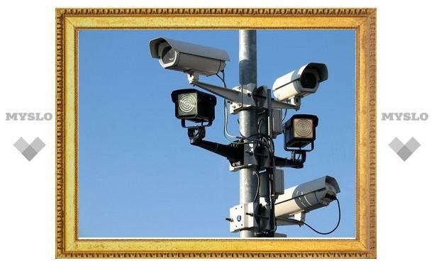 За тульскими площадями присмотрят видеокамеры