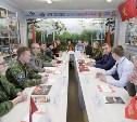 Алексей Дюмин встретился с представителями тульского поискового движения