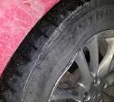 Туляк хочет заставить дорожников заплатить за разбитое колесо