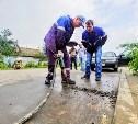 В тульском Мясново разрыли дорогу, чтобы отключить нарушителю газ