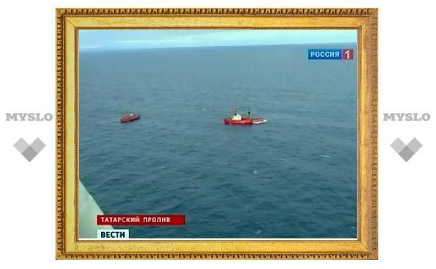 Спасатели приняли пустой гидрокостюм за моряка с пропавшей на Сахалине шхуны