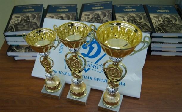 Омоновцы провели спортивные соревнования для тульских школьников