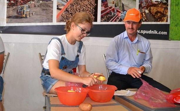 В Веневском районе отметили День картофельного поля