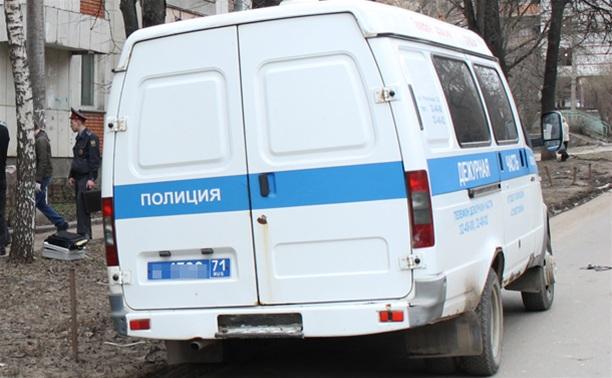В Тульской области совершено нападение на полицейского
