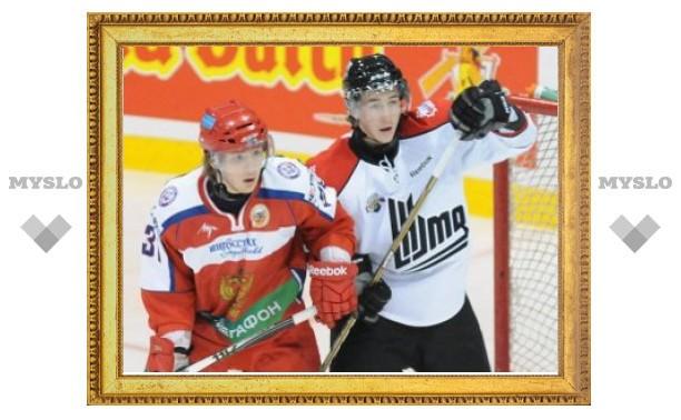 Молодежная сборная России по хоккею выиграла второй матч с канадцами